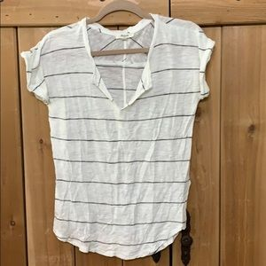 Madewell T-shirt Gray stripe sz xs